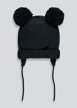 Kids Double Pom Beanie (0-24mths)