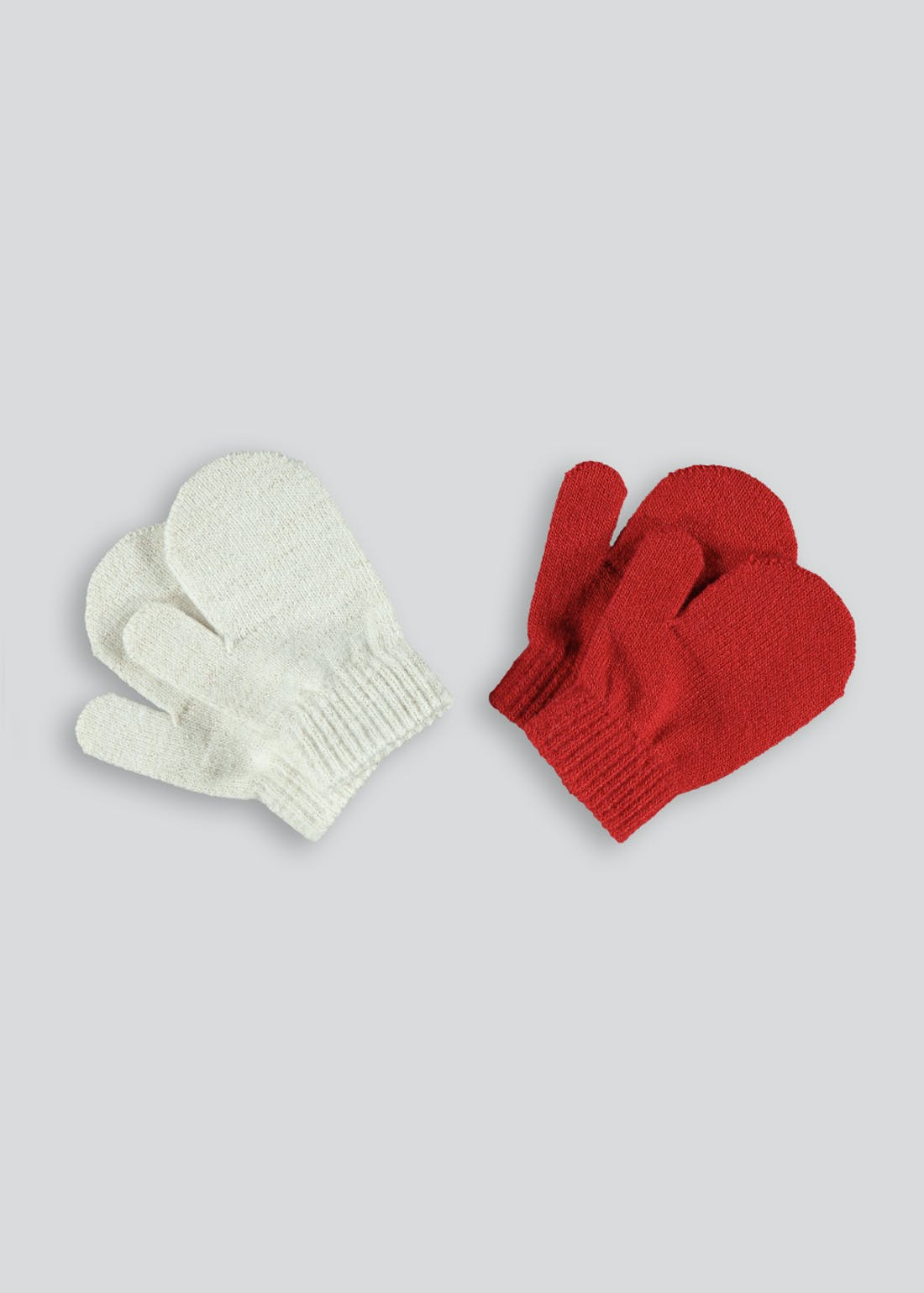 Kids 2 Pack Mittens (One Size)