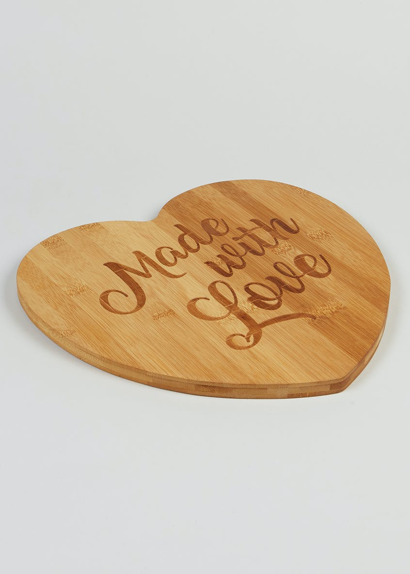Slogan Wooden Chopping Board