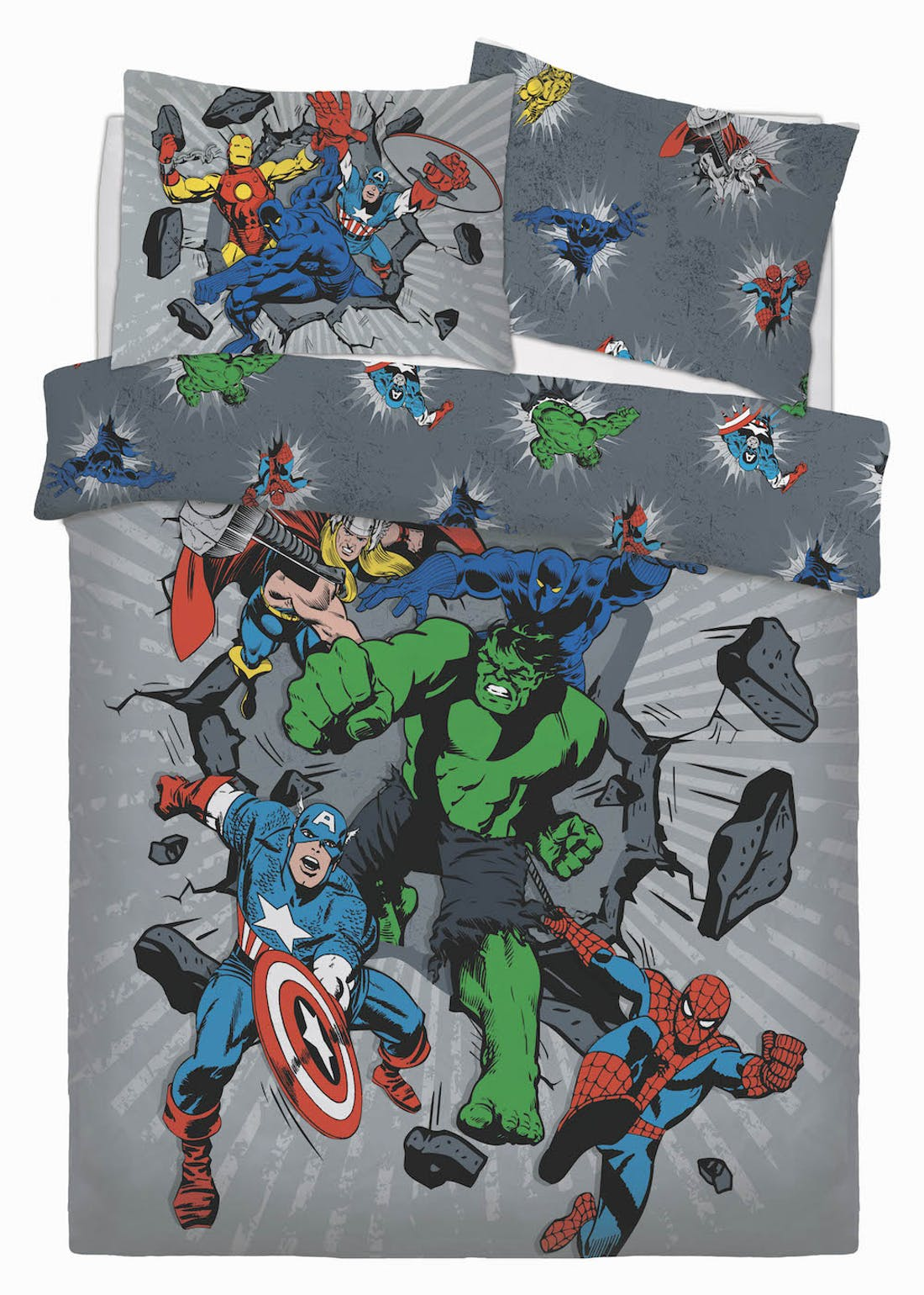 Kids Avengers Duvet Cover (Double)