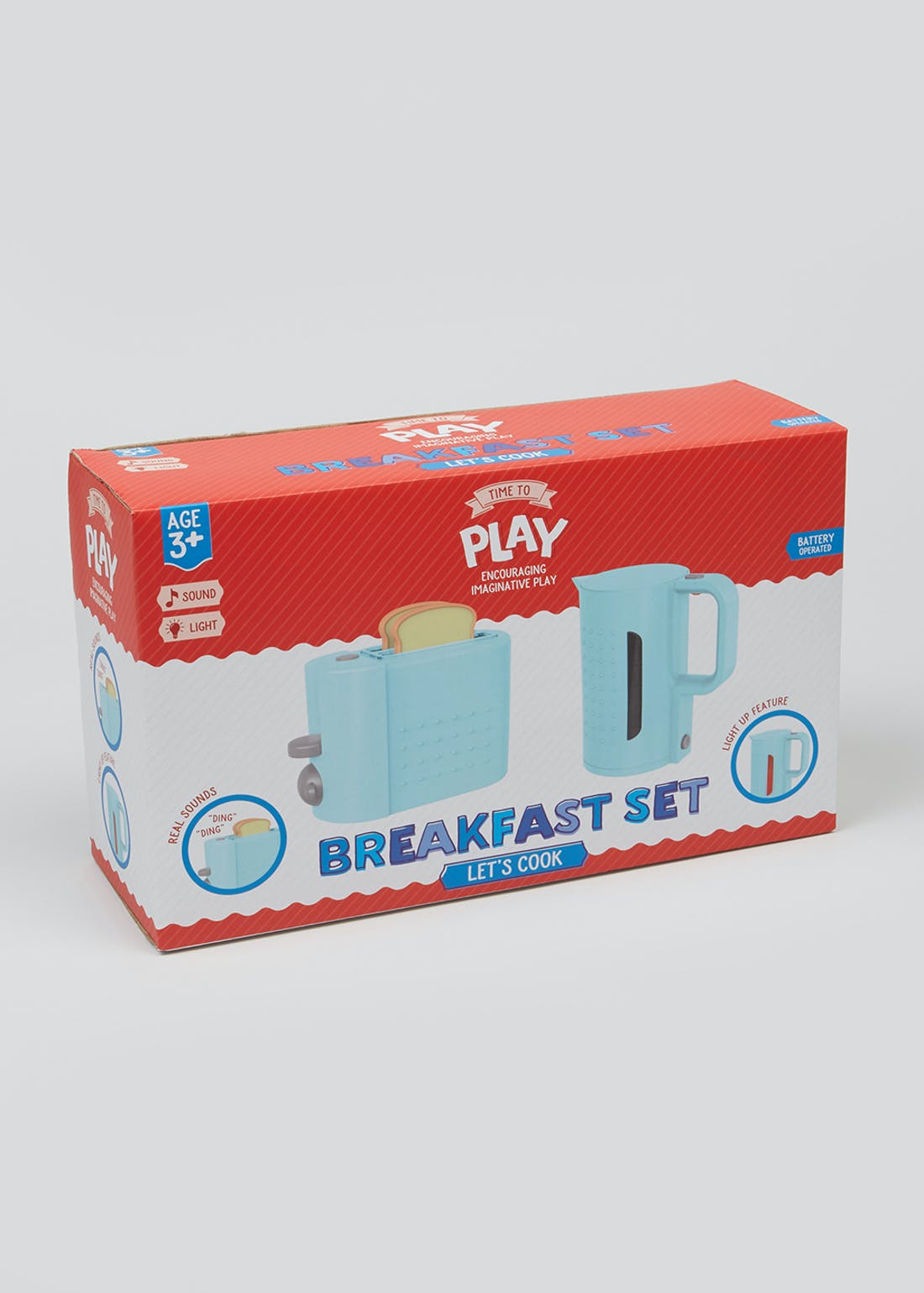 Kids Breakfast Play Set (30cm x 18cm x 10.5cm)