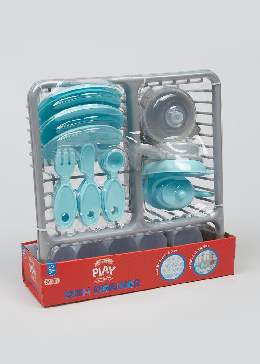 Kids Dish Drainer Play Set (29cm x 28cm x 9cm)