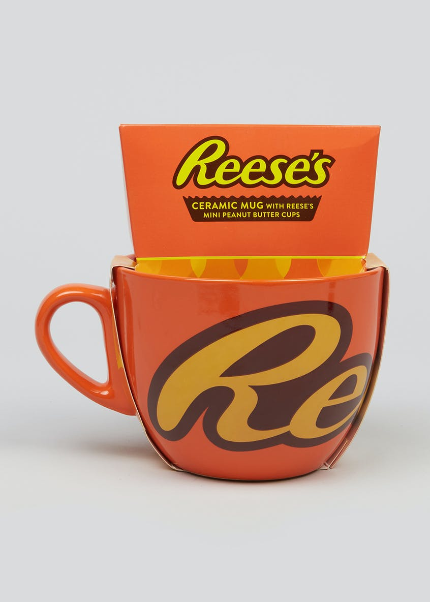 Reeses Mug and Chocolate Gift Set (16cm x 15.5cm x 11cm)