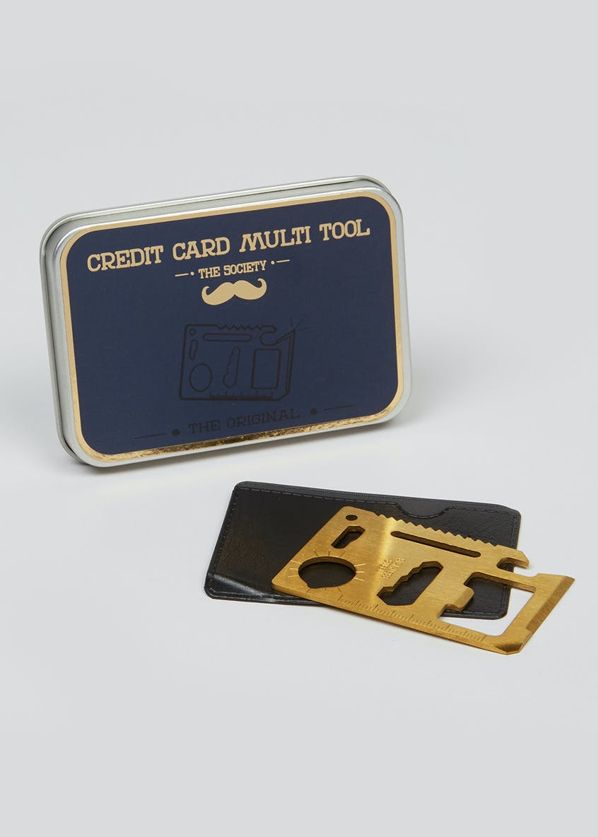 Stainless Steel Card Multi Tool (10.5cm x 7cm x 2cm)