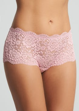 3 Pack Lace Midi Knickers