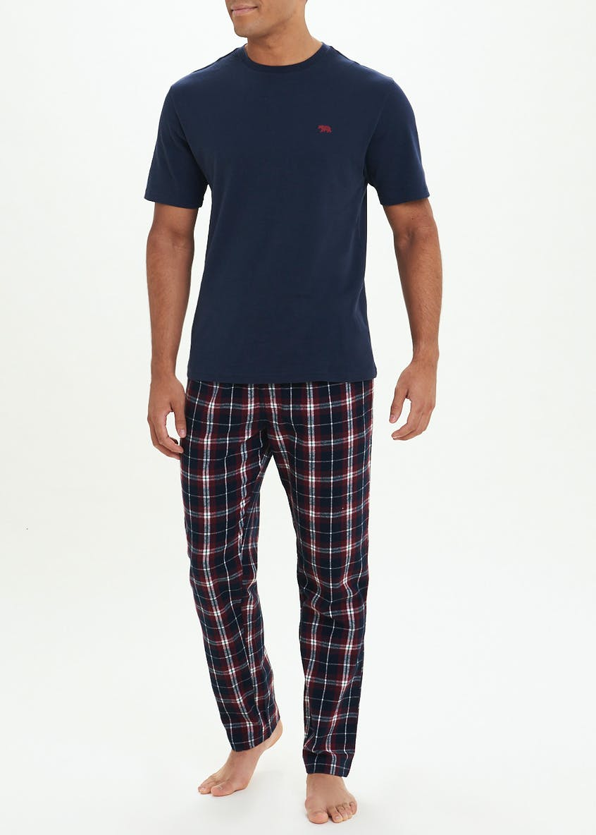 Grid Check Lounge Bottoms
