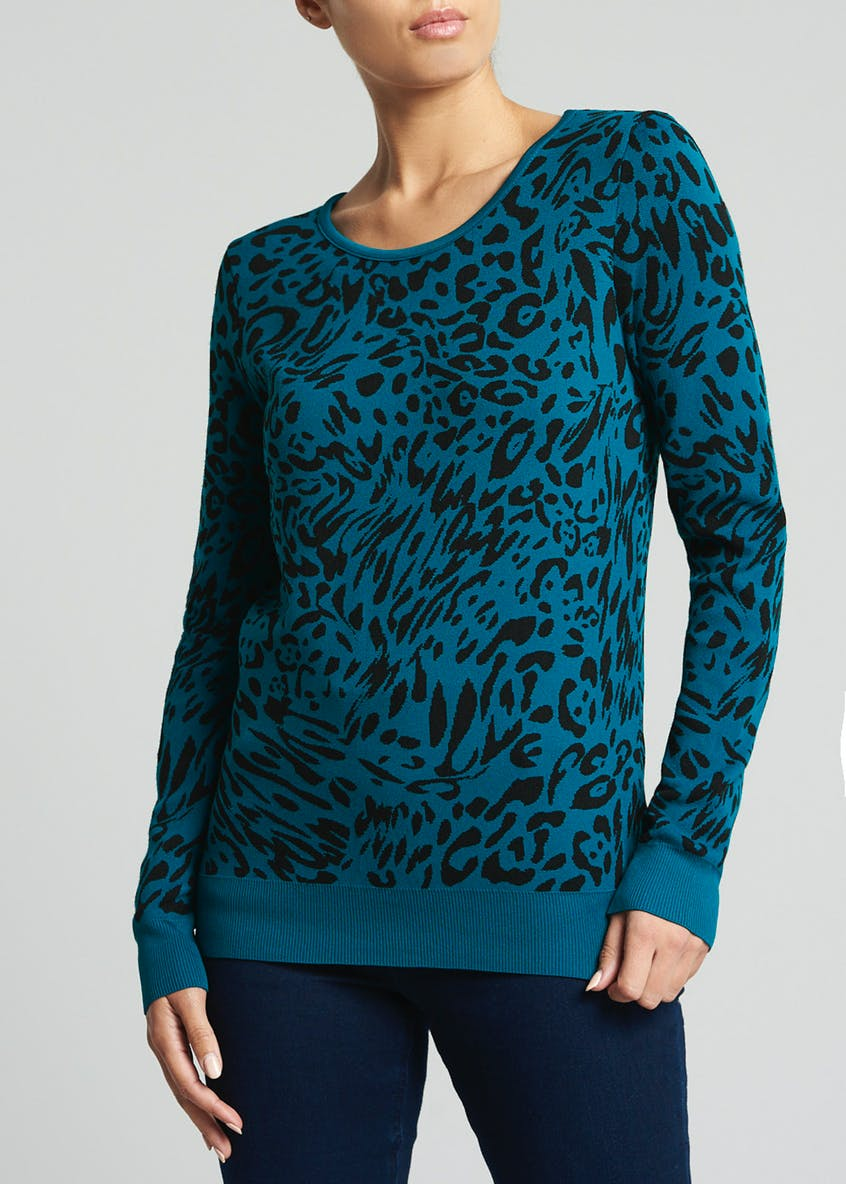 Soon Animal Print Jumper