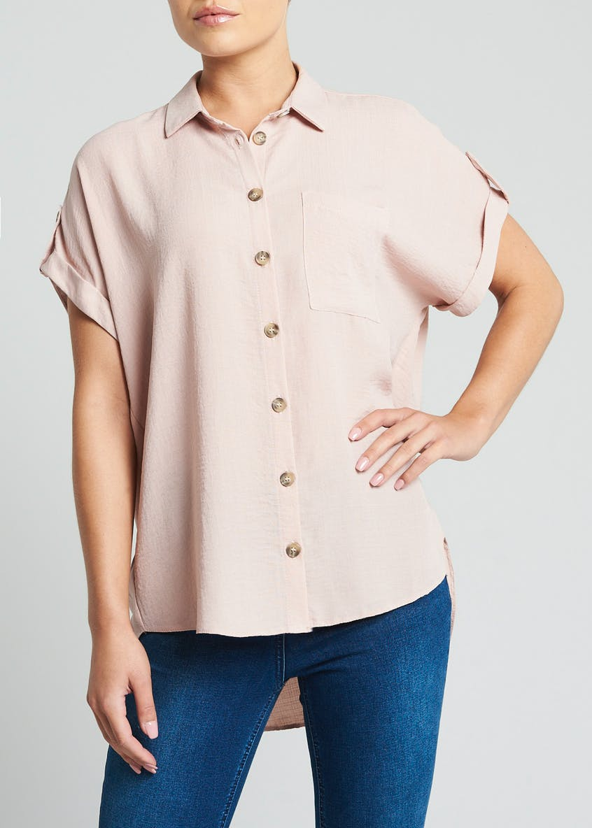 Button Front Pocket Shirt