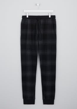 Microfleece Checked Lounge Bottoms