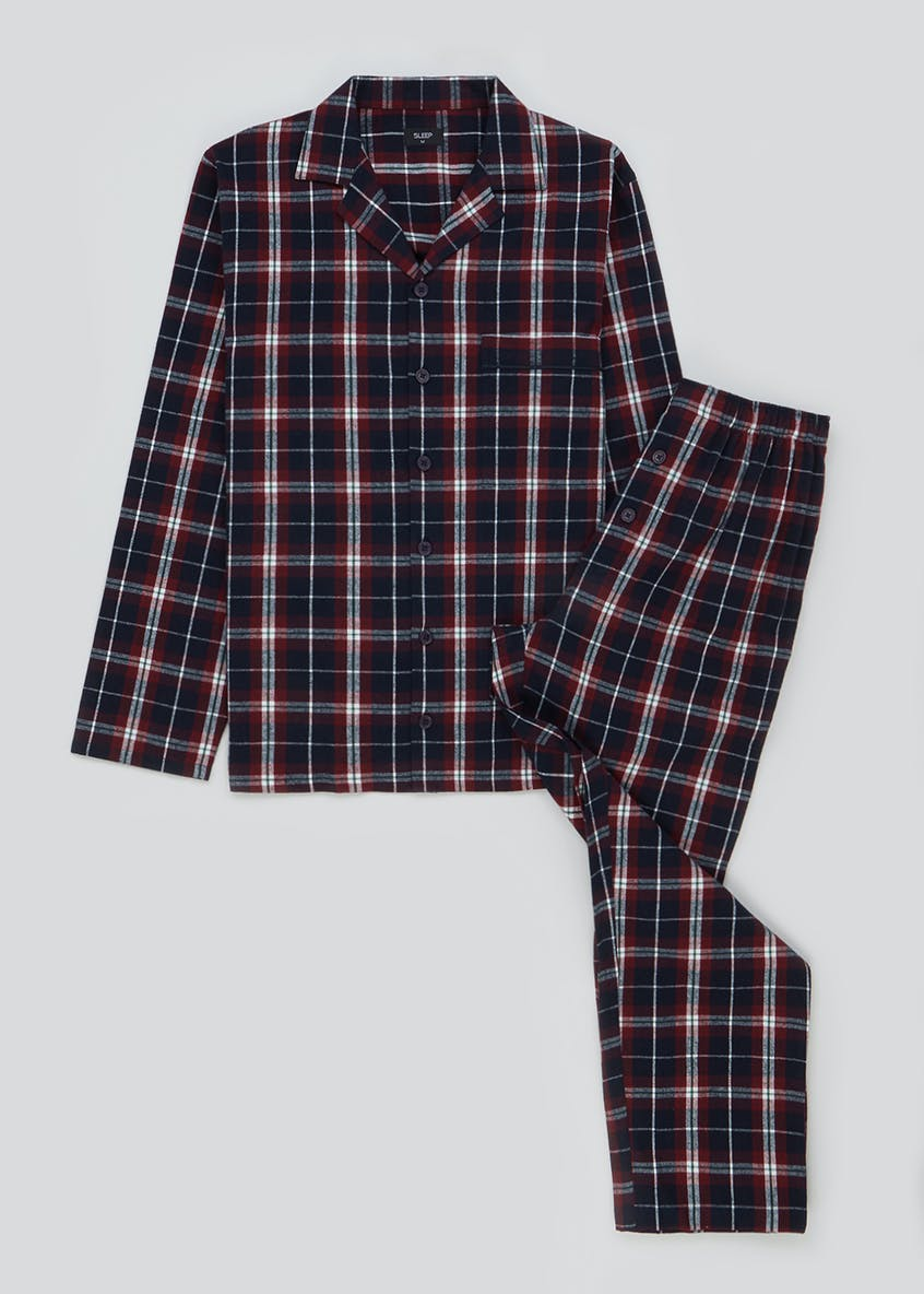 Brushed Cotton Check Pyjama Set