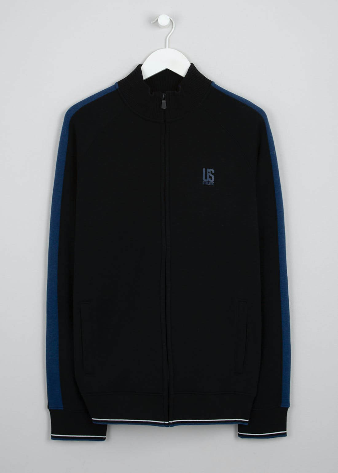 US Athletic Zip Through Track Jacket