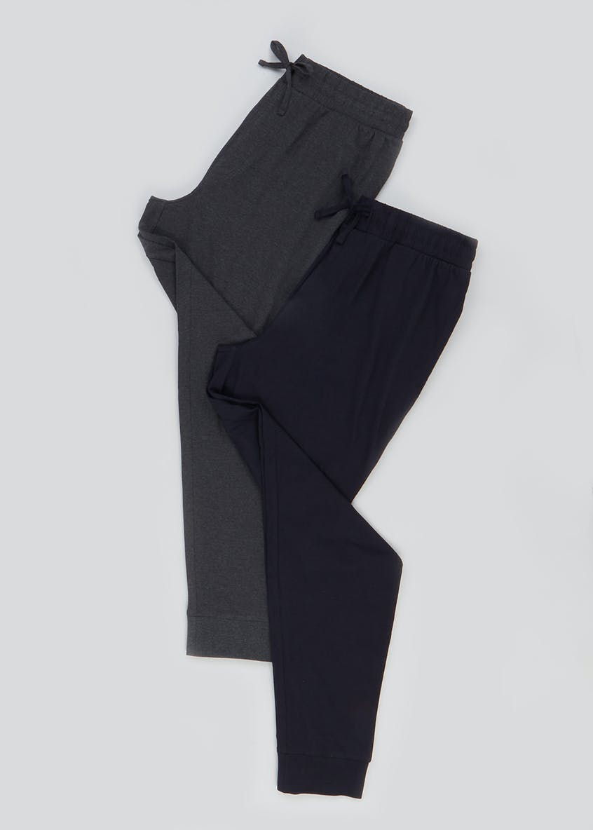 2 Pack Loungewear Jogging Bottoms
