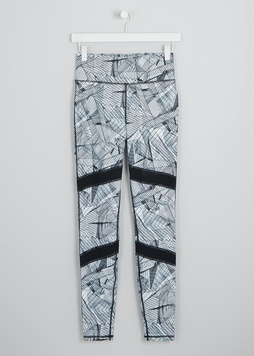 Souluxe Cage Print Sports Leggings