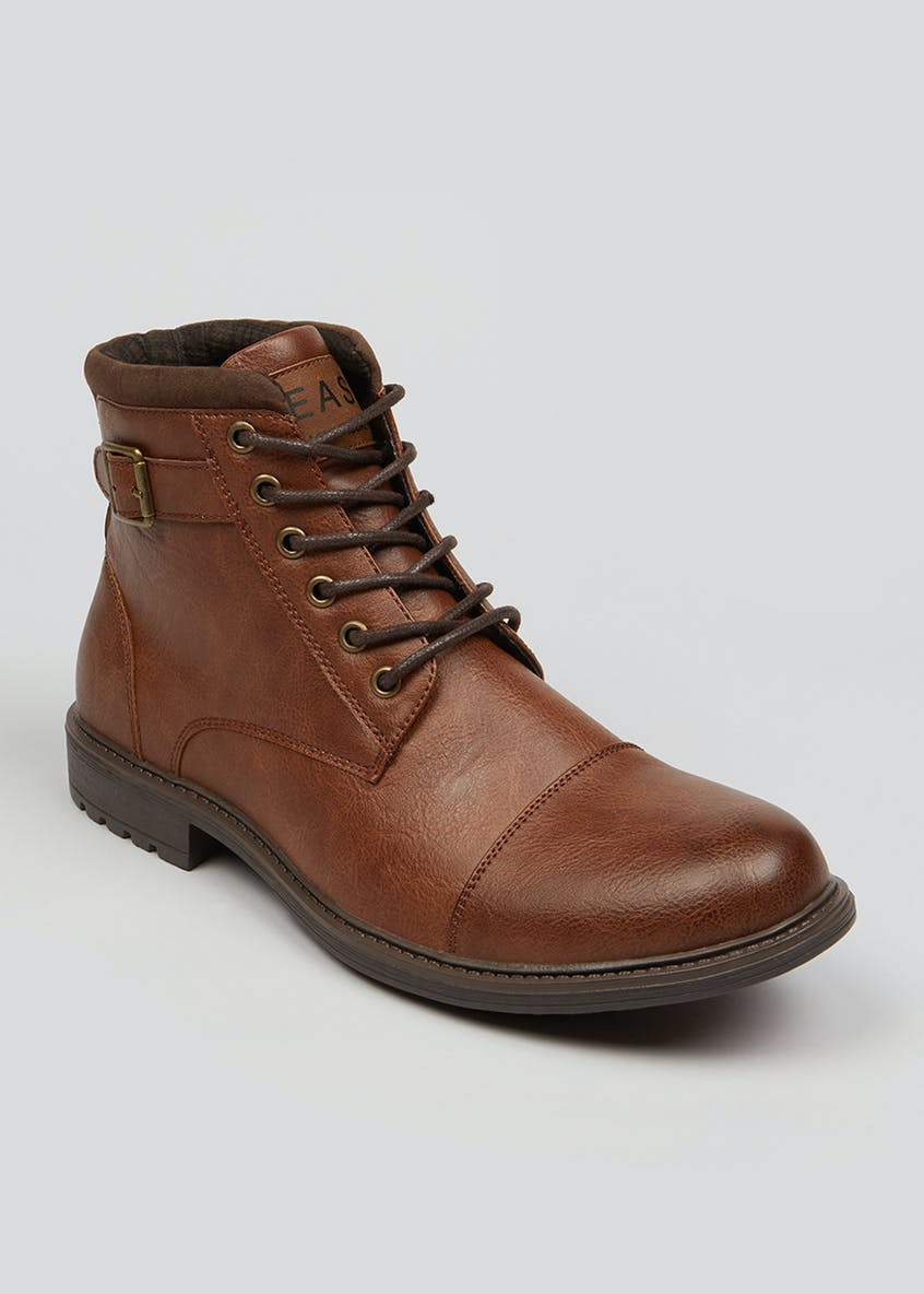 Tan Military Boots