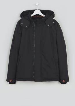 Big & Tall Hooded Coat