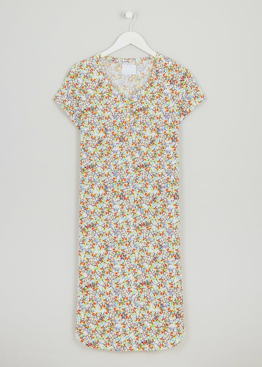 Floral Button Nightie