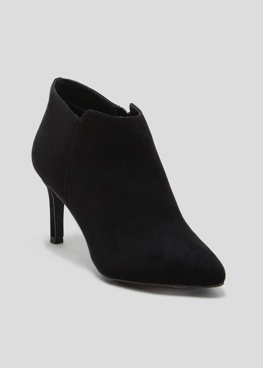 Black Pointed Shoe Boots