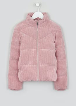 Girls Candy Couture Cord Padded Jacket (9-16yrs)