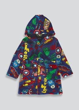 Kids Marvel Comics Dressing Gown (2-9yrs)