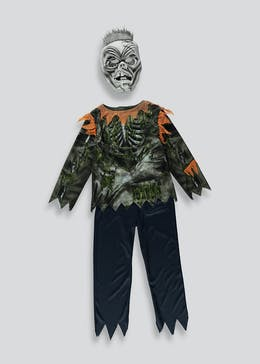 Kids Zombie Halloween Costume (4-11yrs)