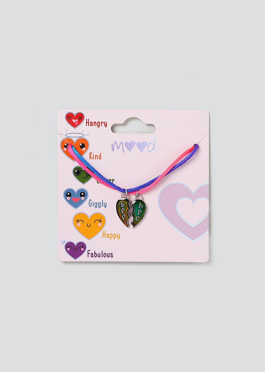 Girls Mood Changing BFF Necklace