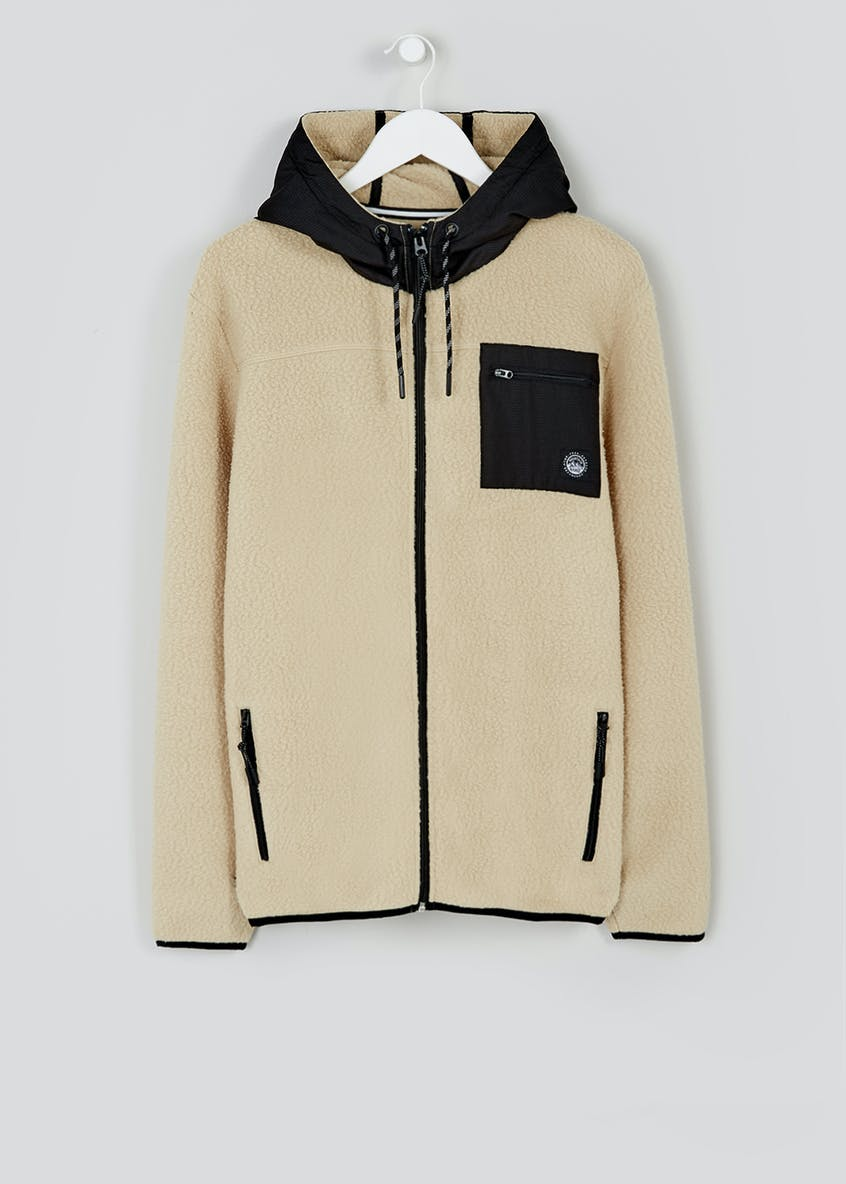 Hooded Zip Through Fleece