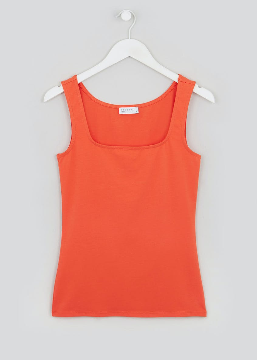 Basic Square Neck Vest