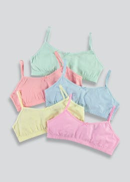 Girls 5 Pack Crop Tops (4-13yrs)