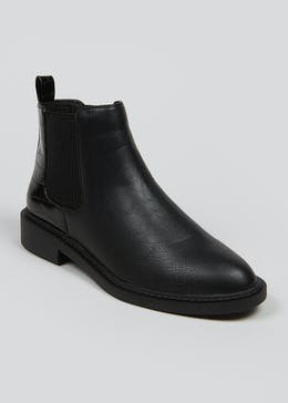 Wide Fit Chelsea Boots