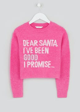Girls Candy Couture Christmas Jumper (9-16yrs)