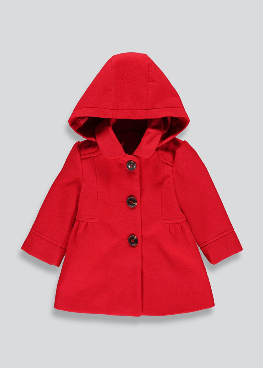 Girls Hooded Smart Coat (9mths-6yrs)