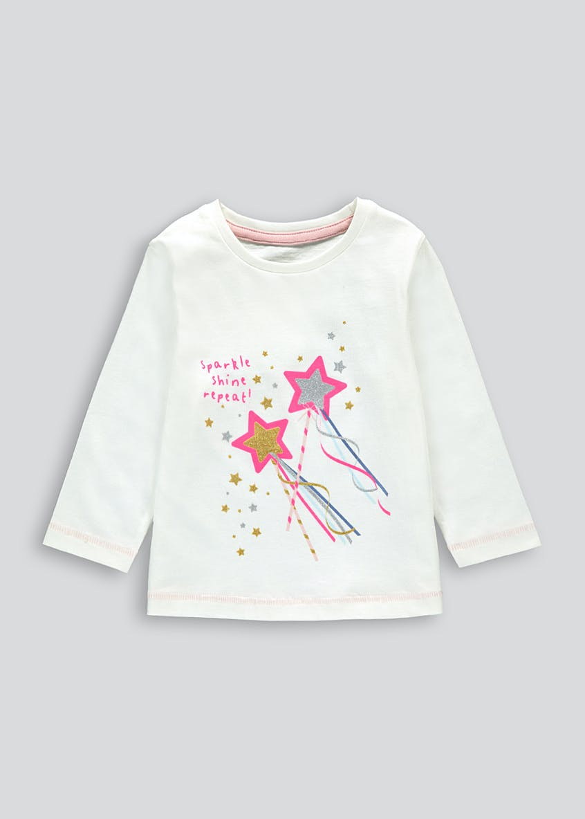 Girls Sparkle T-Shirt (9mths-6yrs)