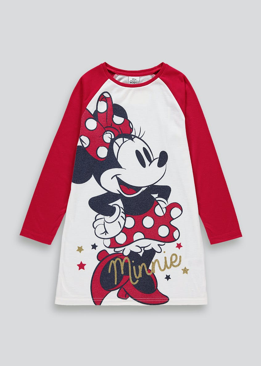 Girls Minnie Mouse Nightie (18mths-11yrs)
