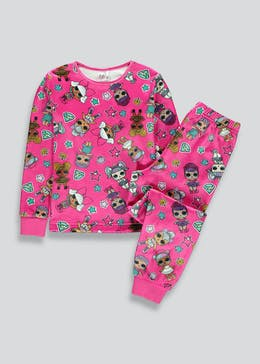 Girls L.O.L Surprise Fleece Pyjama Set (4-11yrs)