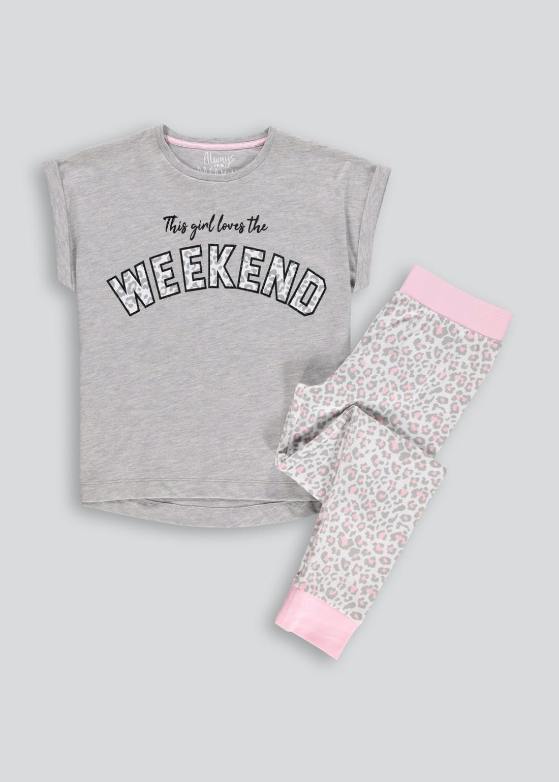Girls Candy Couture Weekend Pyjama Set (9-16yrs)
