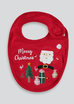 Unisex Christmas Musical Bib (One Size)