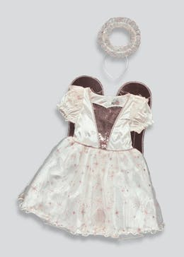 Girls Angel Fancy Dress Costume (3-9yrs)
