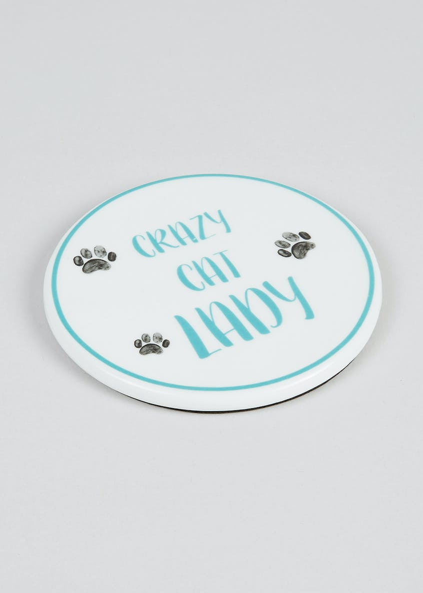 Cat Lady Coaster (10.5cm)