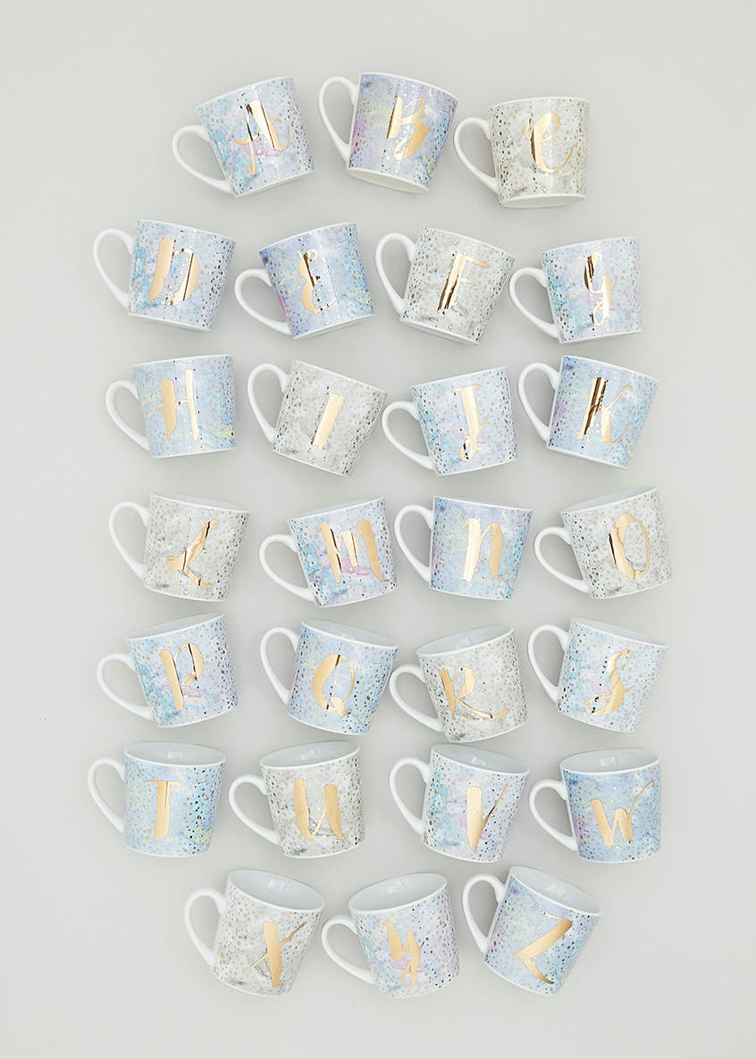 Alphabet Constellation Mug (9cm x 8cm)