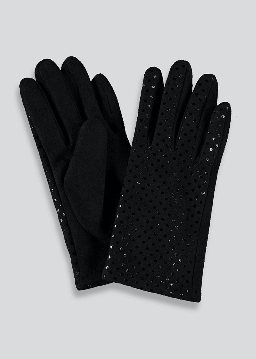 Metallic Spot Gloves