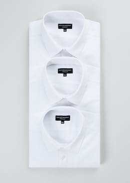 3 Pack Slim Fit Long Sleeve Shirts