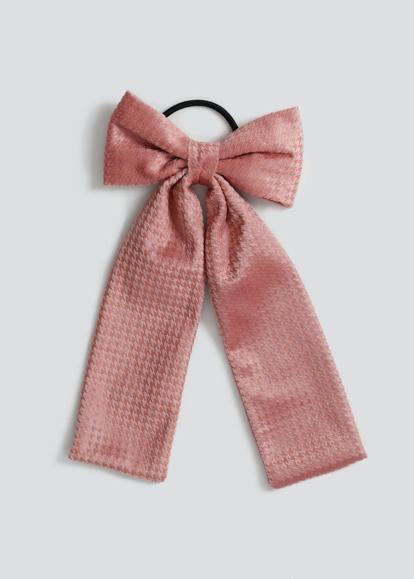 Pink Bow Hairband