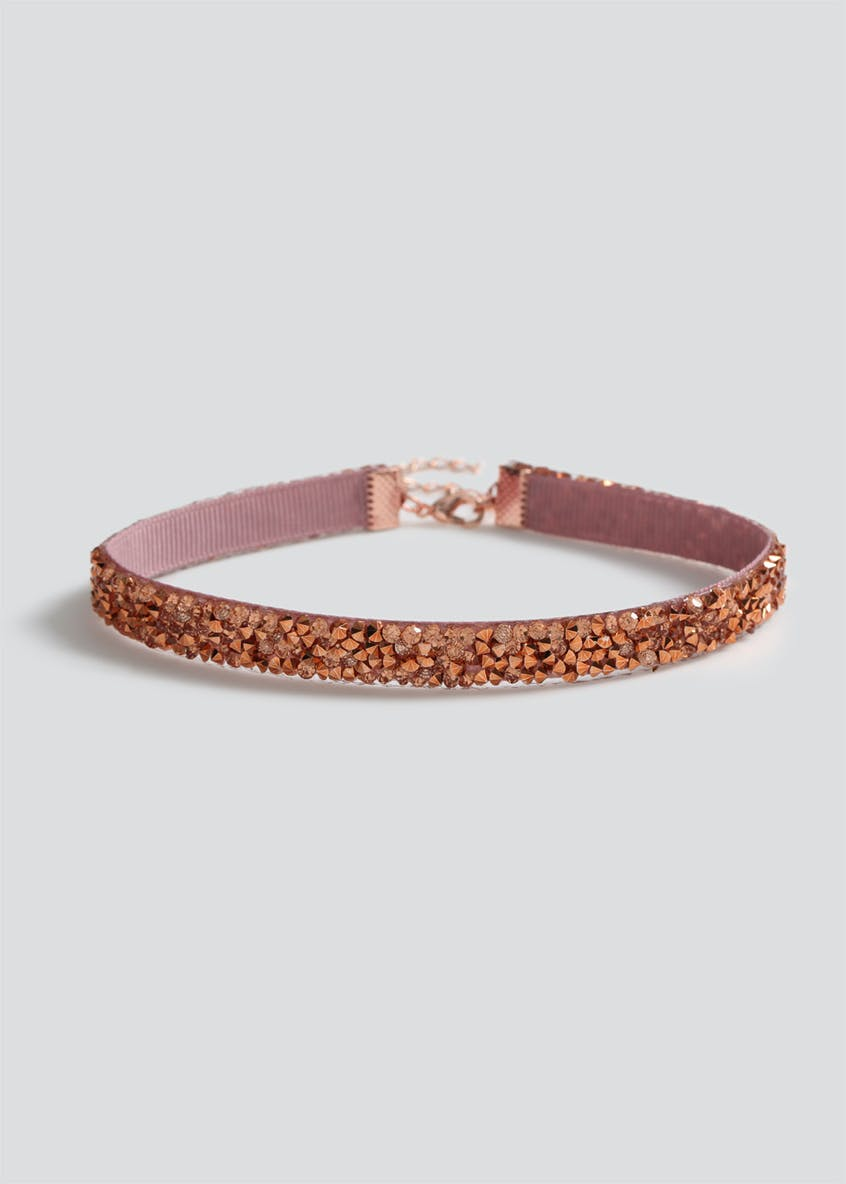 Girls Rose Gold Choker