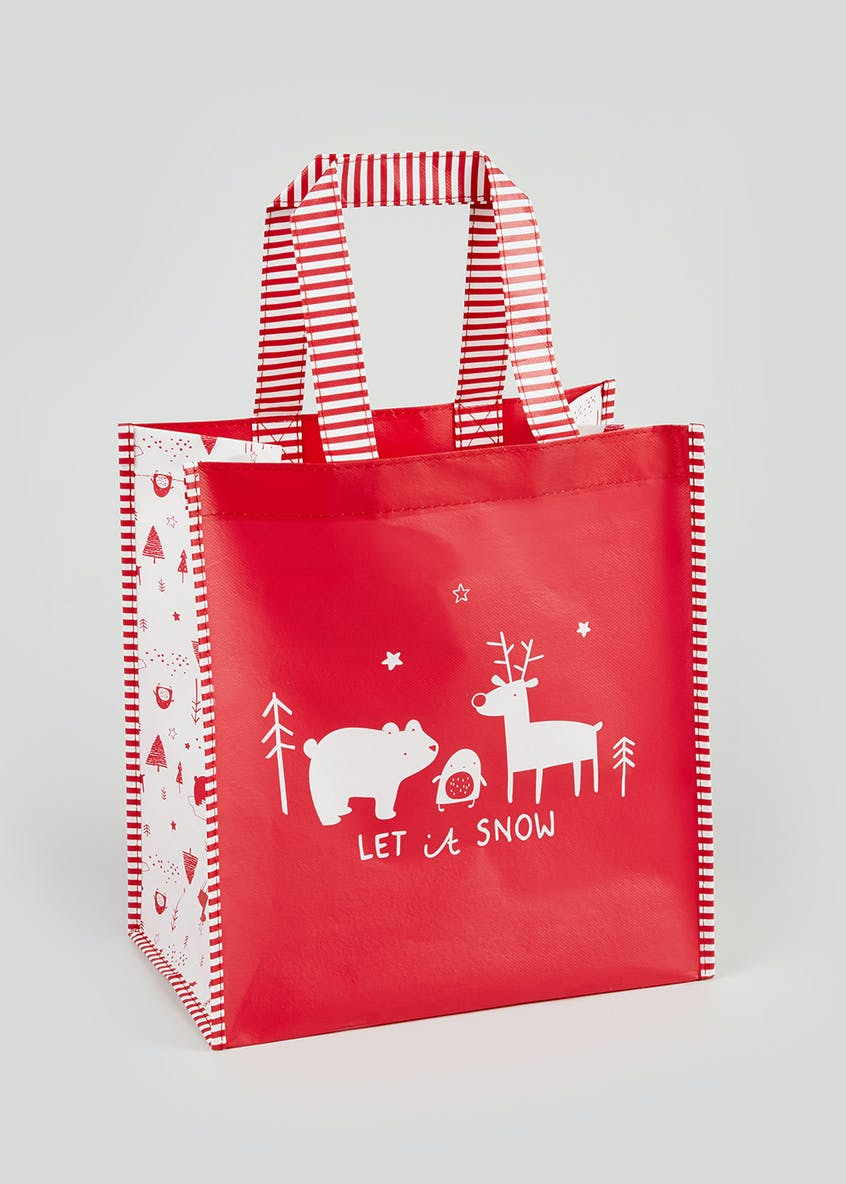 Let It Snow Christmas Gift Bag