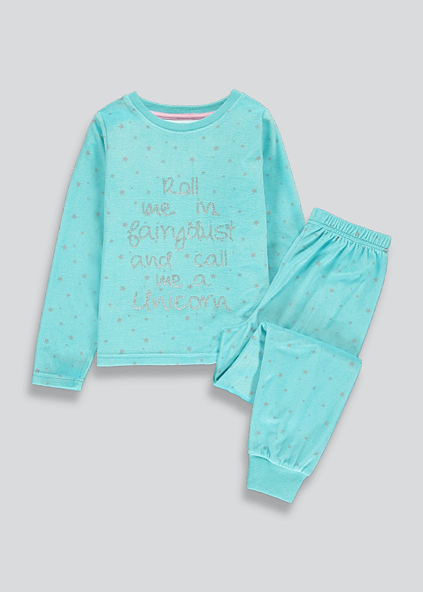 Girls Roll Me In Fairydust Pyjama Set (4-13yrs)