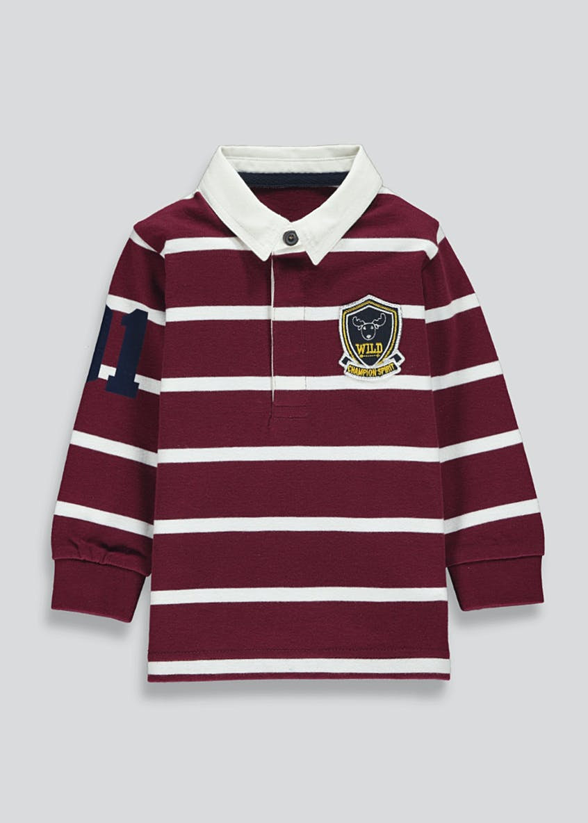 Boys Rugby Polo Shirt (9mths-6yrs)