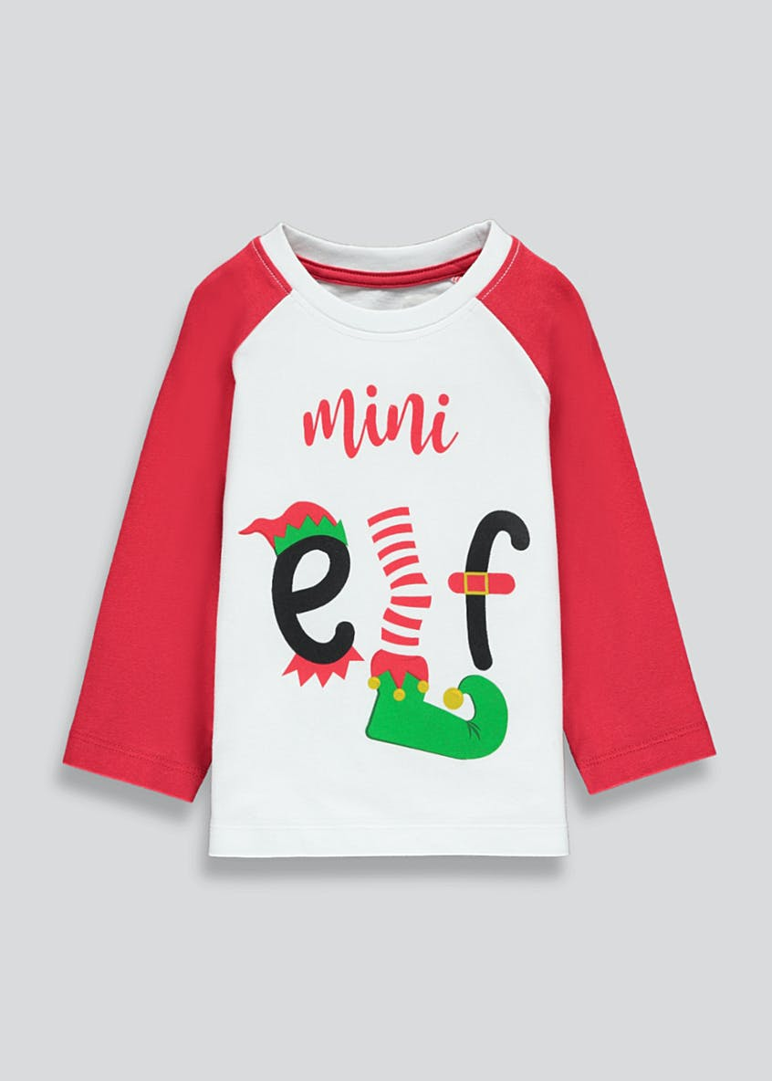 Kids Mini Elf T-Shirt (9mths-6yrs)