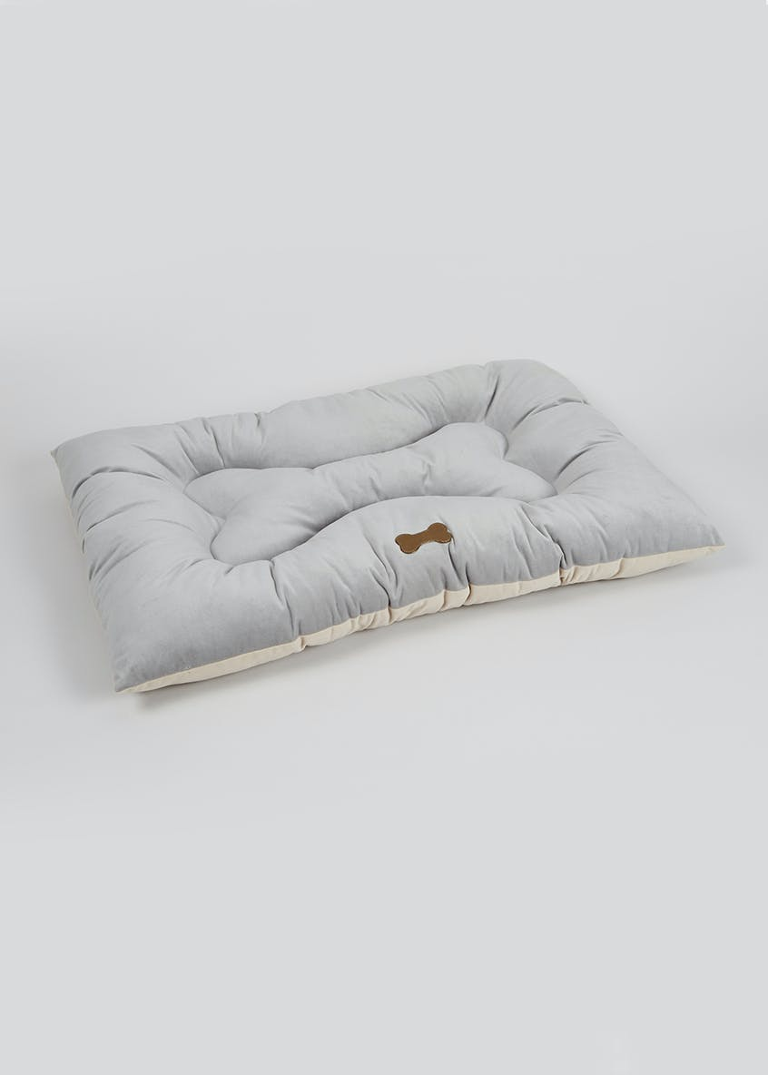 Bone Pet Bed (65cm x 46cm x 10cm)