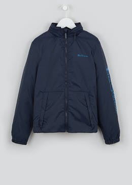 Boys Ben Sherman Navy Windcheater Jacket (3-13yrs)