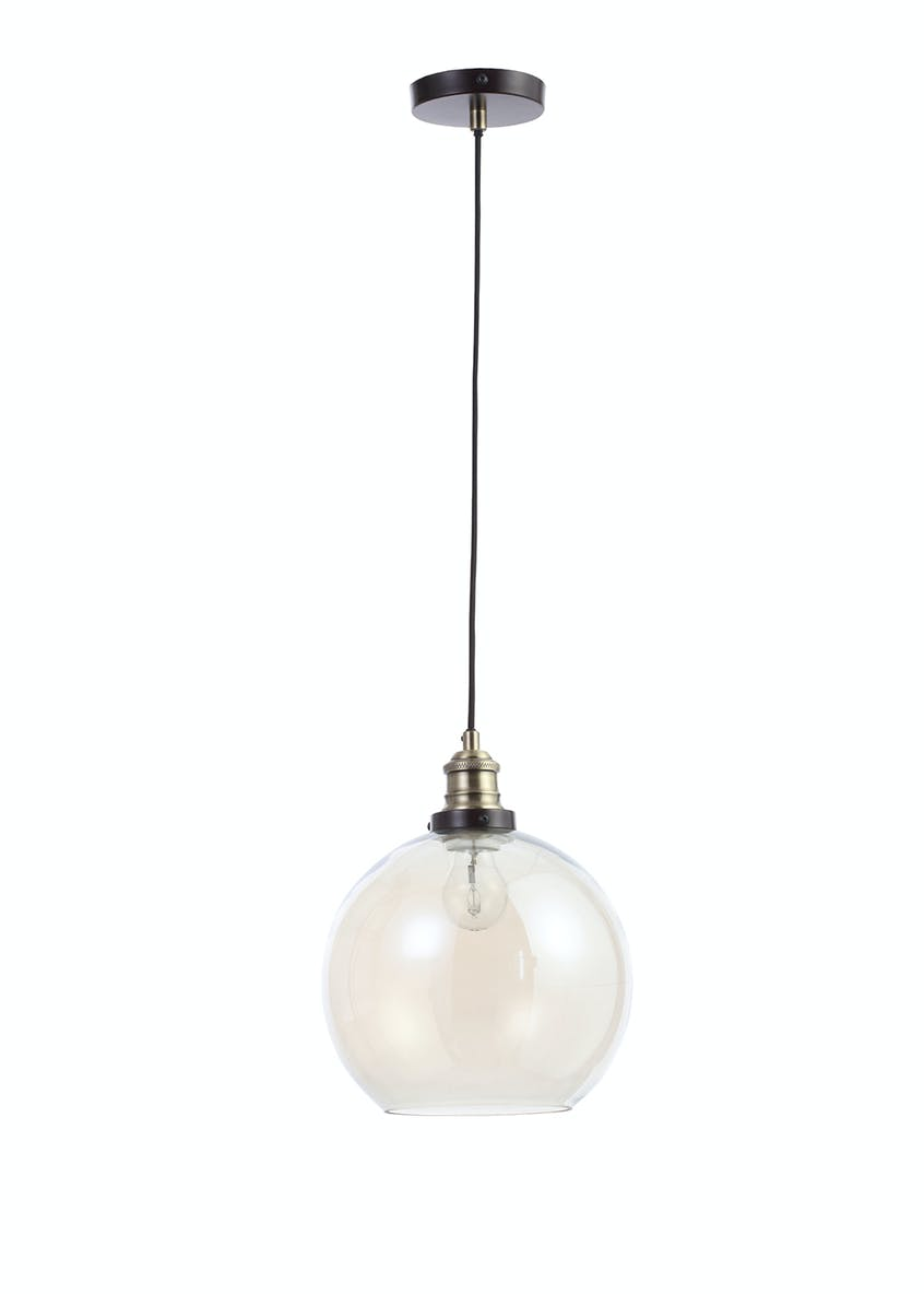 Callisto Glass Pendant Light (H100-50cm x W25cm)